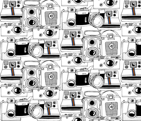 Vintage Cameras fabric by maceymack on Spoonflower - custom fabric