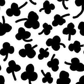 clover black and white kids st patricks irish nursery kids trend