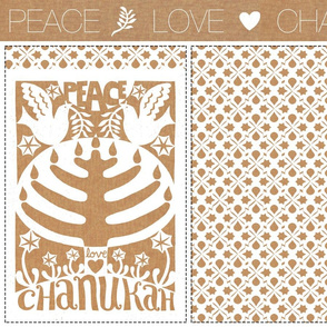 Peace, Love, Chanukah | DIY Judaica