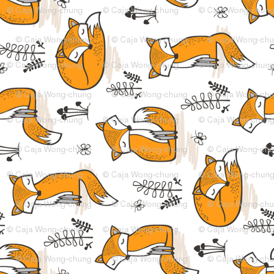 Dreamy Fox Rotated