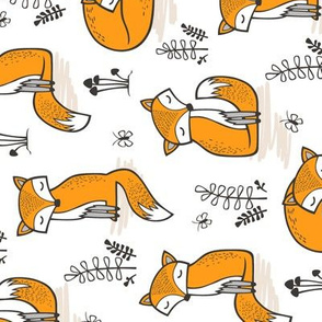 Dreamy Fox Rotated