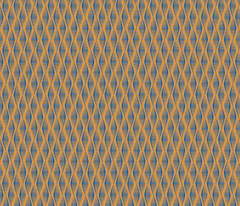 Gene Splice Brown fabric by chris_jorge on Spoonflower - custom fabric