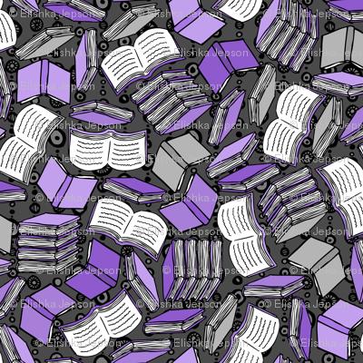 So Many Books... (Purple)