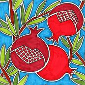 Festive Pomegranates