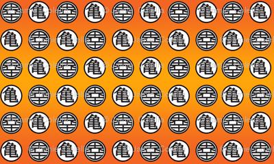 DBZ Turtle & World King Pattern