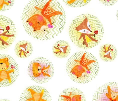 strictly come dancing fabric by mimipinto on Spoonflower - custom fabric