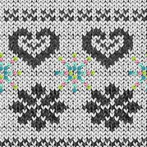 Scandinavian Knitting (Grey)