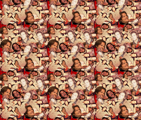Padalecki Panic 2 fabric by sharksvspenguins on Spoonflower - custom fabric