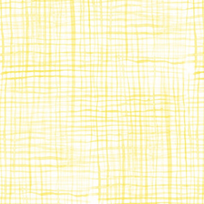 YELLOW CHECKS watercolor