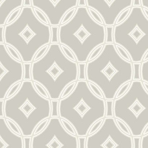 diamond lattice on hazel grey