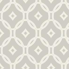 diamond lattice on hazel grey