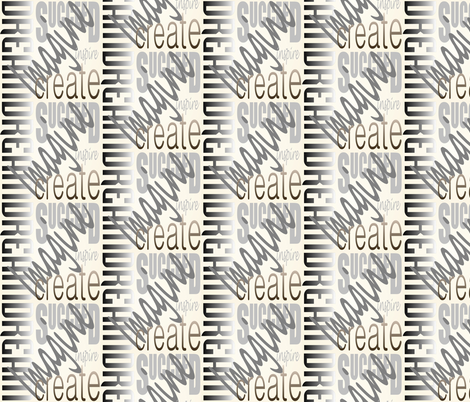 DICIS (Ivory) fabric by esheepdesigns on Spoonflower - custom fabric