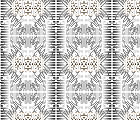 DICIS Mirrored (White) fabric by esheepdesigns on Spoonflower - custom fabric