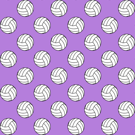 One Inch Black And White Sports Volleyball Balls On