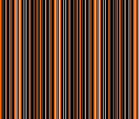 Rblack_orange_white_barcode_stripe_shop_preview