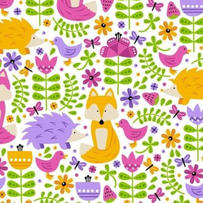 Spring Fox Forest