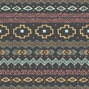 Southwest Tribal (Pink and Green)