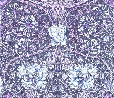 Morris tulip violet