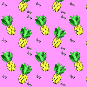 Tossed Pineapples