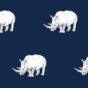 Rhino Safari Navy