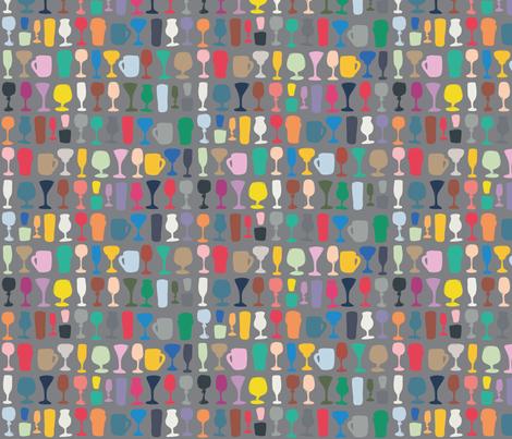 Around Midnight fabric by seesawboomerang on Spoonflower - custom fabric