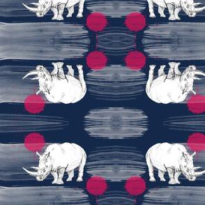Rhino Water Striped & Red Balls