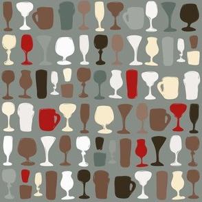 Raise A Glass (MLR grey)