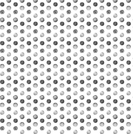 Hand Painted Polka Dot - grey - small fabric by booboo_collective on Spoonflower - custom fabric