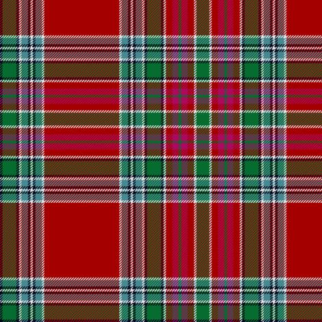 MacBain tartan fabric by weavingmajor on Spoonflower - custom fabric