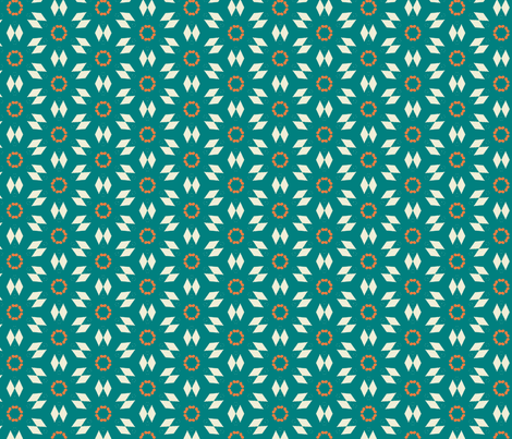 Diamond Stars by Friztin fabric by friztin on Spoonflower - custom fabric