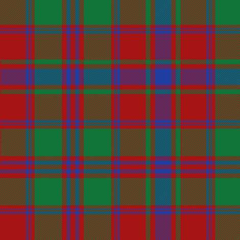 Drummond tartan - red/green/blue fabric by weavingmajor on Spoonflower - custom fabric