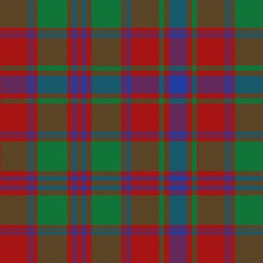 Drummond tartan - red/green/blue