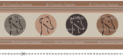 collars sighthound head
