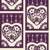 Valentine - eggplant