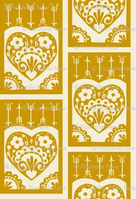 Valentine - mustard