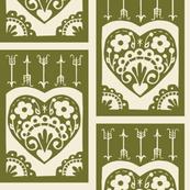 Valentine - olive