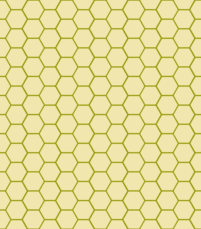Hex Mat Plain Grid Wallpaper