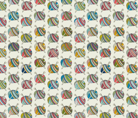 Jubilant Skeins fabric by jaymehennel on Spoonflower - custom fabric