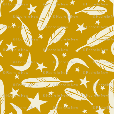 Night Messenger - mustard