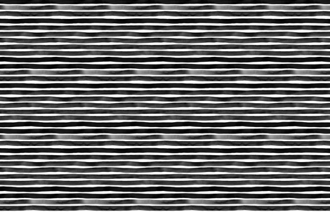 Black Watercolor Stripes by Friztin fabric by friztin on Spoonflower - custom fabric
