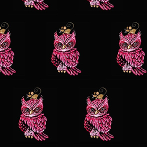 OWL-PINK-Alone