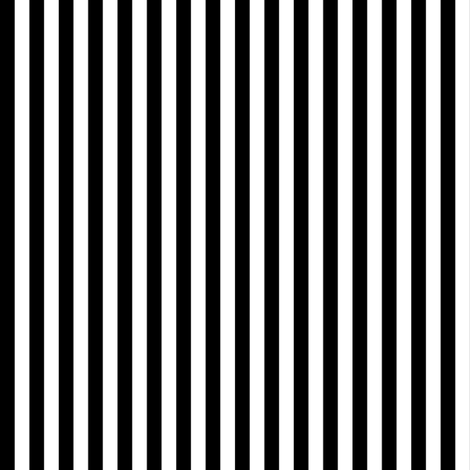 Black and White Stripes (Four to an Inch) fabric by mtothefifthpower on Spoonflower - custom fabric