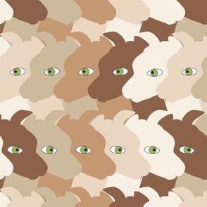 Alpaca Faces brown