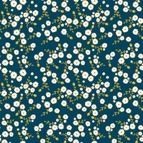 Blue Autumn Daisy