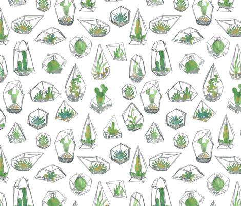 I like plants fabric by ash_sta__teresa on Spoonflower - custom fabric