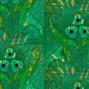 Art Batik 2- green