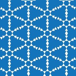 Cobalt Snowflakes