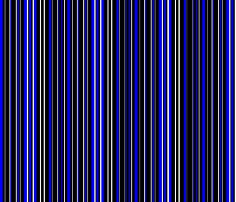 Rblack_blue_white_barcode_stripe_shop_preview
