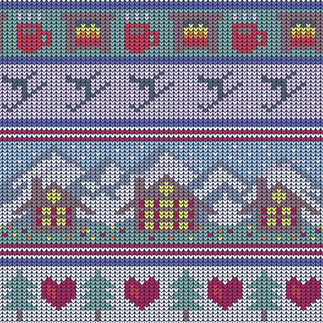 Ski Jumper fabric by seesawboomerang on Spoonflower - custom fabric