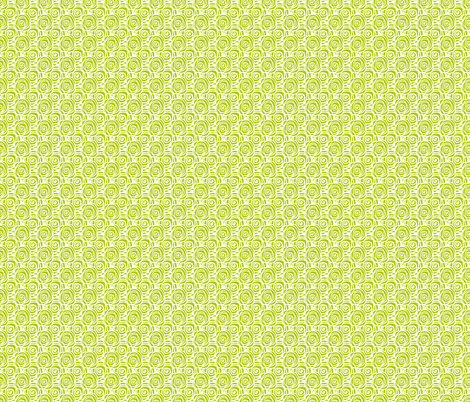 Bedtime_Swirl_Small_Chartruese_ fabric by tanglewebb on Spoonflower - custom fabric
